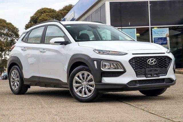 New Hyundai Kona OS.3 MY20 Go 2WD, 2019 Hyundai Kona OS.3 MY20 Go 2WD Chalk White 6 Speed Sports Automatic Wagon