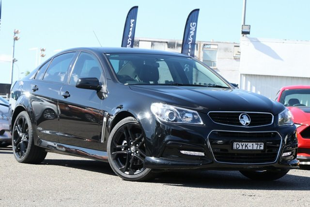 Used Holden Commodore VF MY15 SS, 2015 Holden Commodore VF MY15 SS Black 6 Speed Sports Automatic Sedan