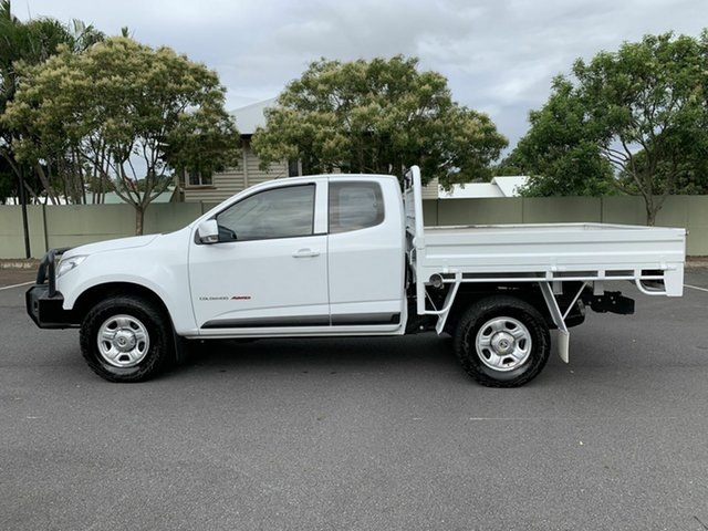 Used Holden Colorado RG LS, 2015 Holden Colorado RG LS White 6 Speed Manual Spacecab