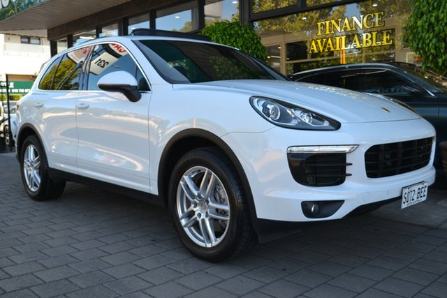 Used Porsche Cayenne 92A MY15 Tiptronic, 2015 Porsche Cayenne 92A MY15 Tiptronic White 8 Speed Sports Automatic Wagon