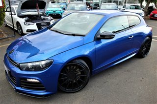 2011 Volkswagen Scirocco 1S MY12 R Coupe DSG Blue 6 Speed Sports Automatic Dual Clutch Hatchback.