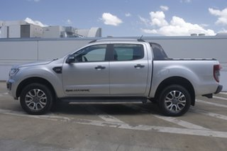 2018 Ford Ranger PX MkIII 2019.00MY Wildtrak Pick-up Double Cab Silver 6 Speed Manual Utility