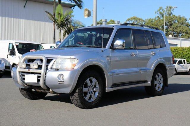 Used Mitsubishi Pajero NP MY05 Exceed, 2005 Mitsubishi Pajero NP MY05 Exceed Silver 5 speed Automatic Wagon