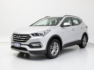 2017 Hyundai Santa Fe DM SER II (DM3) Update Active CRDi (4x4) Platinum Silver Metallic 6 Speed.