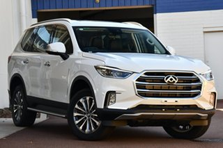 2020 LDV D90 SV9A MY19 Executive Blanc White 6 Speed Sports Automatic Wagon
