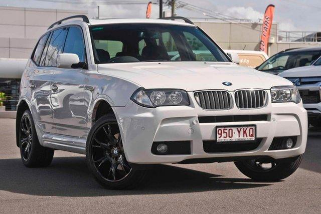 Used BMW X3 E83 MY07 si Steptronic, 2007 BMW X3 E83 MY07 si Steptronic White 6 Speed Sports Automatic Wagon