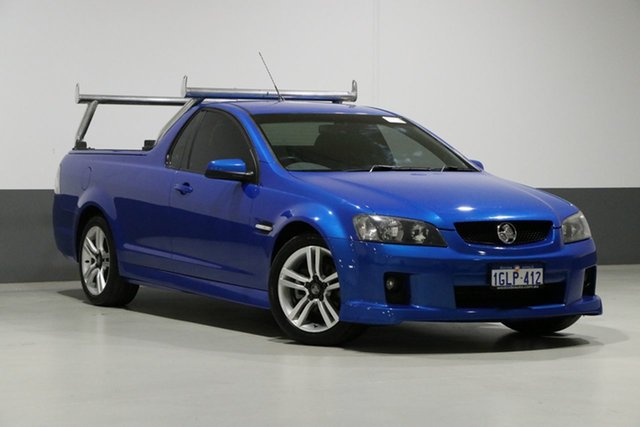 Used Holden Commodore VE SV6 60th Anniversary, 2008 Holden Commodore VE SV6 60th Anniversary Blue 5 Speed Automatic Utility