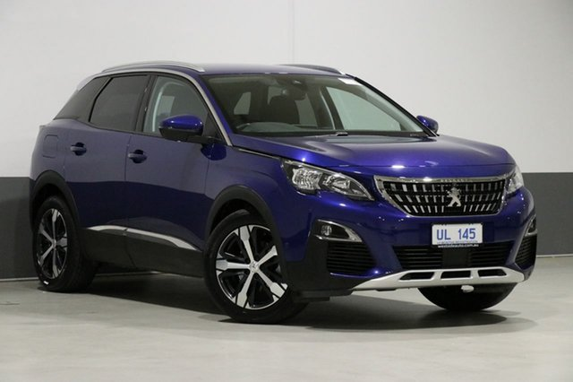 Used Peugeot 3008 P84 MY18.5 Allure, 2018 Peugeot 3008 P84 MY18.5 Allure Blue 6 Speed Automatic Wagon