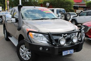2012 Mazda BT-50 UP0YF1 XTR Freestyle Gold 6 Speed Manual Utility