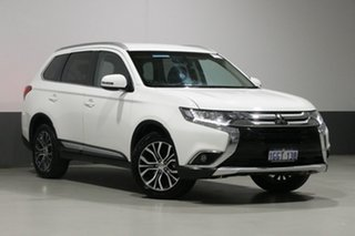 2017 Mitsubishi Outlander ZL MY18.5 LS 7 Seat (AWD) White Continuous Variable Wagon.