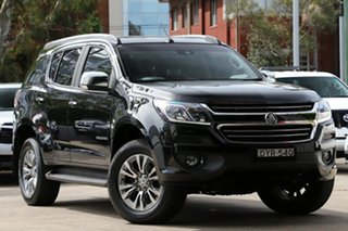 2018 Holden Trailblazer RG MY18 LTZ (4x4) Black 6 Speed Automatic Wagon.