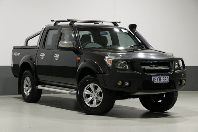 Used Ford Ranger PK XLT (4x4), 2011 Ford Ranger PK XLT (4x4) Black 5 Speed Automatic Dual Cab Pick-up