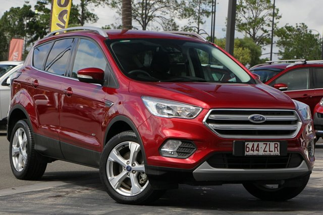 Used Ford Escape ZG 2019.25MY Trend PwrShift AWD, 2019 Ford Escape ZG 2019.25MY Trend PwrShift AWD Red 6 Speed Sports Automatic Dual Clutch Wagon