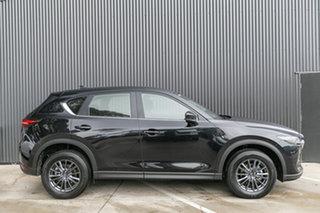 2019 Mazda CX-5 KF2W7A Maxx SKYACTIV-Drive FWD Sport Jet Black 6 Speed Sports Automatic Wagon.