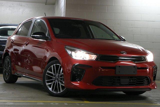 Demo Kia Rio YB MY20 GT-Line DCT, 2019 Kia Rio YB MY20 GT-Line DCT Signal Red 7 Speed Sports Automatic Dual Clutch Hatchback