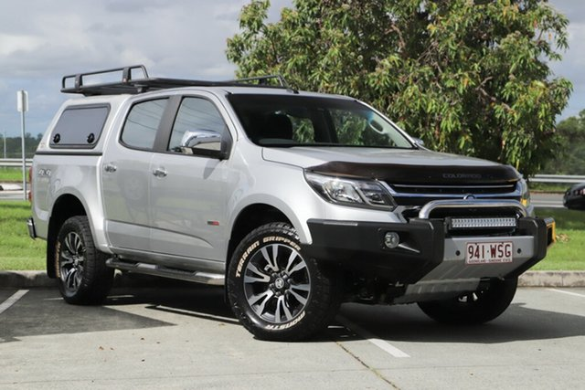 Used Holden Colorado RG MY17 LTZ Pickup Crew Cab, 2016 Holden Colorado RG MY17 LTZ Pickup Crew Cab Silver 6 Speed Sports Automatic Utility