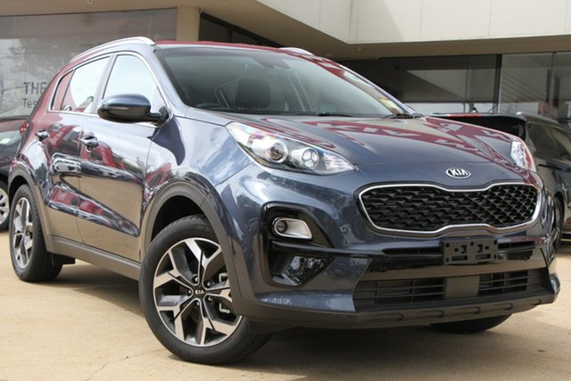 Demo Kia Sportage QL MY20 SX 2WD, 2019 Kia Sportage QL MY20 SX 2WD Mercury Blue 6 Speed Sports Automatic Wagon