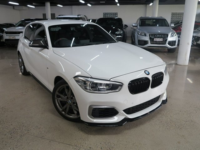 Used BMW 1 Series F20 LCI M140i, 2016 BMW 1 Series F20 LCI M140i White 8 Speed Sports Automatic Hatchback