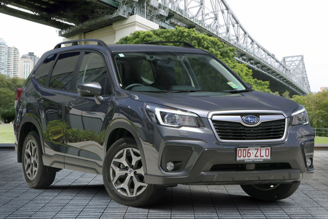 Demo Subaru Forester S5 MY20 2.5i-L CVT AWD, 2019 Subaru Forester S5 MY20 2.5i-L CVT AWD Magnetite Grey 7 Speed Constant Variable Wagon