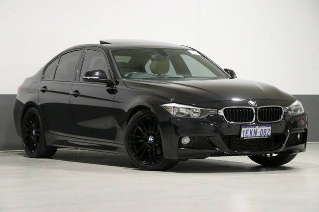 Used BMW 320d F30 MY14 , 2013 BMW 320d F30 MY14 Black 8 Speed Automatic Sedan