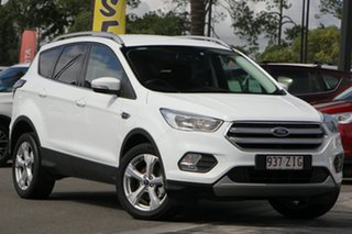 2018 Ford Escape ZG 2019.25MY Trend 2WD White 6 Speed Sports Automatic Wagon.