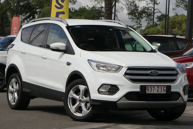 Used Ford Escape ZG 2019.25MY Trend 2WD, 2018 Ford Escape ZG 2019.25MY Trend 2WD White 6 Speed Sports Automatic Wagon