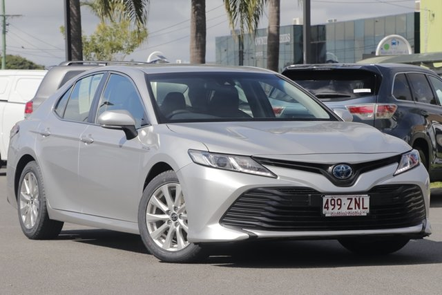 Used Toyota Camry AXVH71R Ascent, 2018 Toyota Camry AXVH71R Ascent Silver Pearl 6 Speed Constant Variable Sedan Hybrid