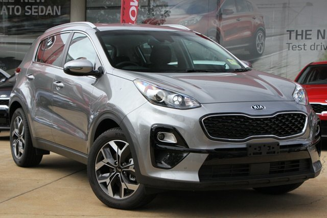 Demo Kia Sportage QL MY20 SX 2WD, 2019 Kia Sportage QL MY20 SX 2WD Steel Grey 6 Speed Sports Automatic Wagon