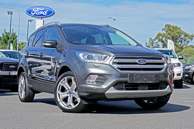 Used Ford Escape ZG Titanium PwrShift AWD, 2017 Ford Escape ZG Titanium PwrShift AWD Magnetic 6 Speed Sports Automatic Dual Clutch Wagon