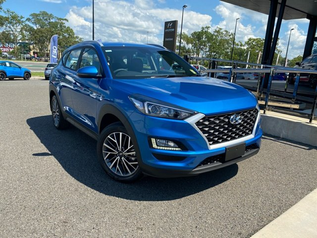New Hyundai Tucson TL4 MY20 Active X 2WD, 2019 Hyundai Tucson TL4 MY20 Active X 2WD Blue 6 Speed Automatic Wagon