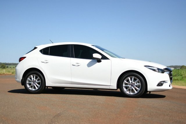 Used Mazda 3 BN MY18 Maxx Sport, 2018 Mazda 3 BN MY18 Maxx Sport White 6 Speed Automatic Hatchback