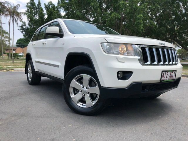 Used Jeep Grand Cherokee WK Laredo (4x4) Underwood, 2012 Jeep Grand Cherokee WK Laredo (4x4) White 5 Speed Automatic Wagon