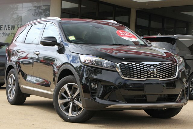 Demo Kia Sorento UM MY20 Sport AWD, 2019 Kia Sorento UM MY20 Sport AWD Aurora Black 8 Speed Sports Automatic Wagon