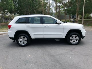 2012 Jeep Grand Cherokee WK Laredo (4x4) White 5 Speed Automatic Wagon.