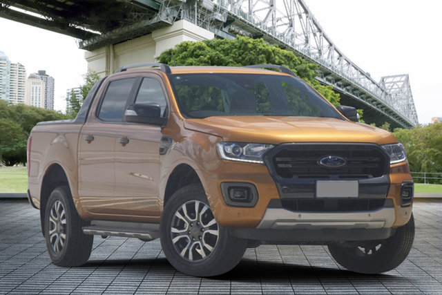 Used Ford Ranger PX MkIII 2019.75MY Wildtrak Pick-up Double Cab, 2019 Ford Ranger PX MkIII 2019.75MY Wildtrak Pick-up Double Cab Saber 10 Speed Sports Automatic