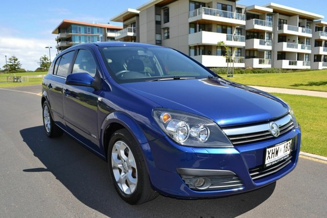 Used Holden Astra AH MY06 CDXi, 2005 Holden Astra AH MY06 CDXi Blue 4 Speed Automatic Hatchback