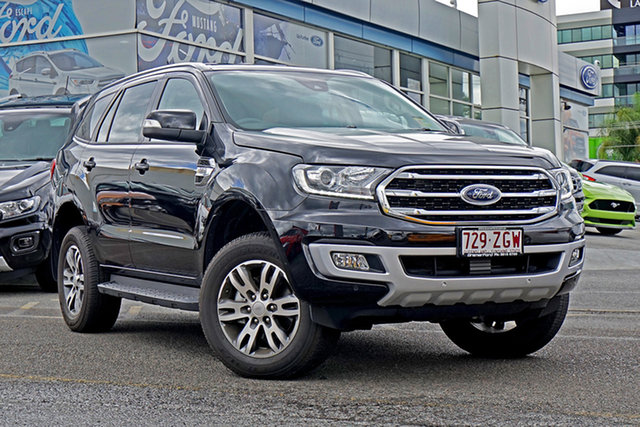 Used Ford Everest UA II 2019.00MY Trend 4WD, 2019 Ford Everest UA II 2019.00MY Trend 4WD Black 6 Speed Sports Automatic Wagon