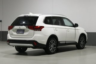 2017 Mitsubishi Outlander ZL MY18.5 LS 7 Seat (AWD) White Continuous Variable Wagon