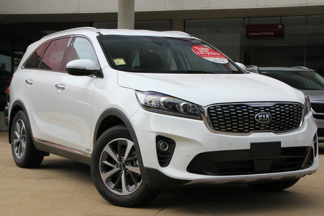 Demo Kia Sorento UM MY20 Sport AWD, 2019 Kia Sorento UM MY20 Sport AWD Clear White 8 Speed Sports Automatic Wagon