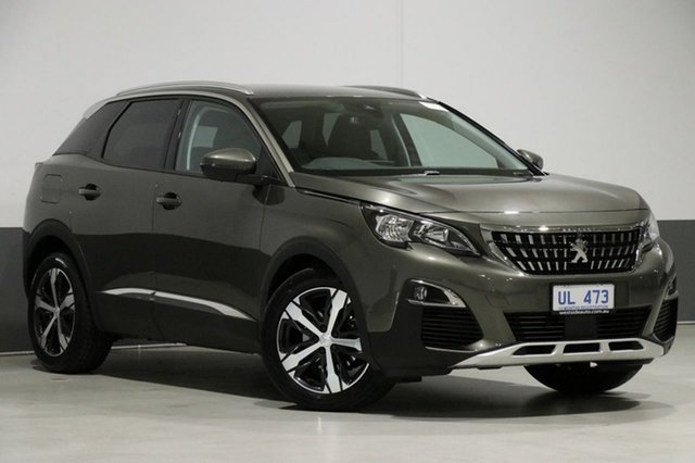 Used Peugeot 3008 P84 MY18.5 Allure, 2018 Peugeot 3008 P84 MY18.5 Allure Grey 6 Speed Automatic Wagon