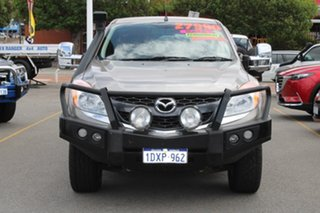 2012 Mazda BT-50 UP0YF1 XTR Freestyle Gold 6 Speed Manual Utility.
