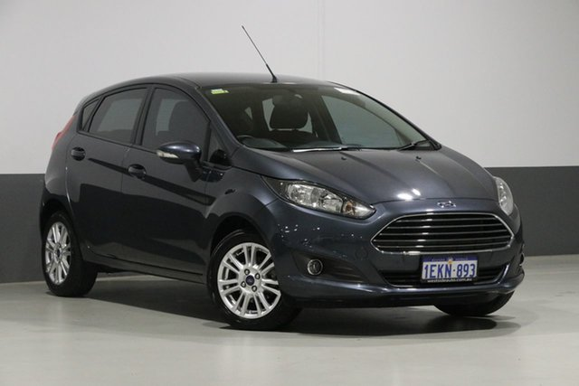 Used Ford Fiesta WZ Trend, 2013 Ford Fiesta WZ Trend Grey 6 Speed Automatic Hatchback