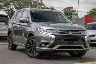 2017 Mitsubishi Outlander ZK MY18 PHEV AWD LS Titanium 1 Speed Automatic Wagon Hybrid.