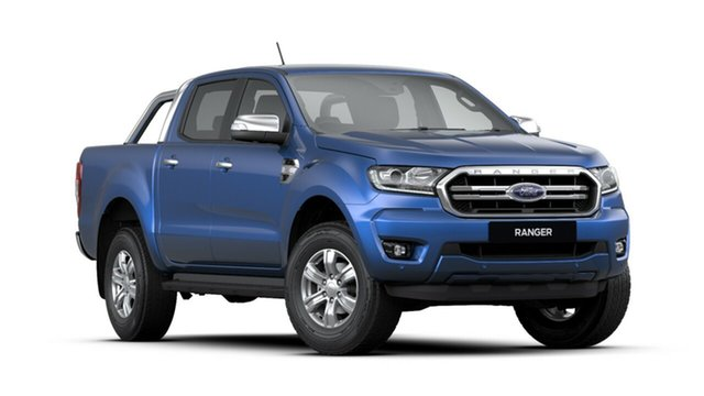 New Ford Ranger PX MkIII 2020.25MY XLT Pick-up Double Cab, 2020 Ford Ranger PX MkIII 2020.25MY XLT Pick-up Double Cab Blue Lightning 6 Speed Sports Automatic