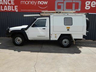 2013 Nissan Patrol Y61 GU 6 SII MY13 DX White 5 Speed Manual Cab Chassis