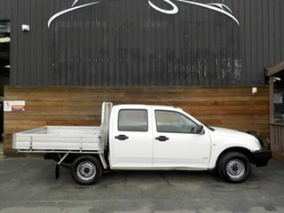 2005 Holden Rodeo RA MY05.5 DX Crew Cab 4x2 White 5 Speed Manual Utility.