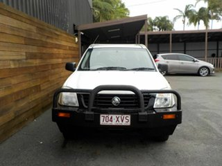 2005 Holden Rodeo RA MY05.5 DX Crew Cab 4x2 White 5 Speed Manual Utility