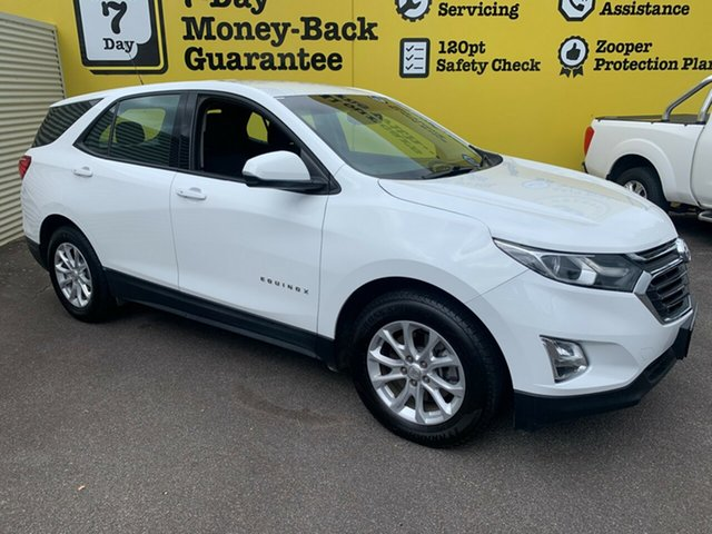 Used Holden Equinox EQ MY18 LS FWD, 2018 Holden Equinox EQ MY18 LS FWD Summit White 6 Speed Sports Automatic Wagon
