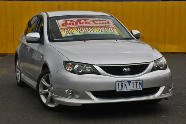 Used Subaru Impreza G3 MY09 RS AWD, 2009 Subaru Impreza G3 MY09 RS AWD Silver 4 Speed Sports Automatic Hatchback