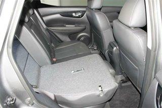 2017 Nissan Qashqai J11 TL Gun Metallic 1 Speed Constant Variable Wagon